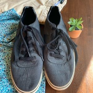 Polo Ralph Lauren Grey& Black Men Shoes Size 11